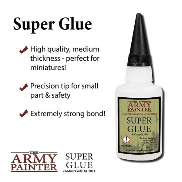 The Army Painter GL2014 Super Glue Sekundenkleber