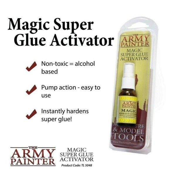 The Army Painter TL5048 Magic Superglue Activator 20 ml (verbessert)