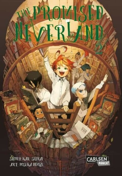 The Promised Neverland Band 02 (DE)