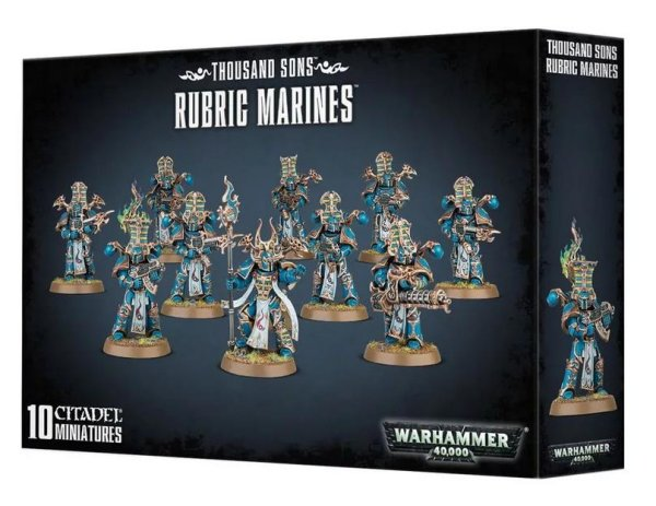 Thousand Sons - Rubric Marines