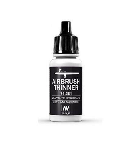 Vallejo 71.261 Airbrush Thinner -neue Formel- 17ml Verdünner