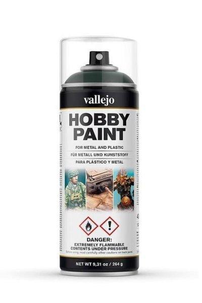 Vallejo Hobby Paint Spray Primer Dark Green 400ml (30€/1L)