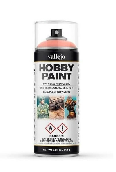 Vallejo Hobby Paint Spray Primer Pale Flesh 400ml (30€/1L)