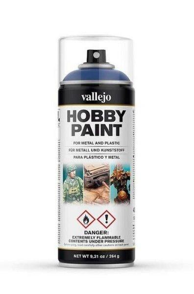 Vallejo Hobby Paint Spray Primer Ultramarine Blue 400ml (30€/1L)