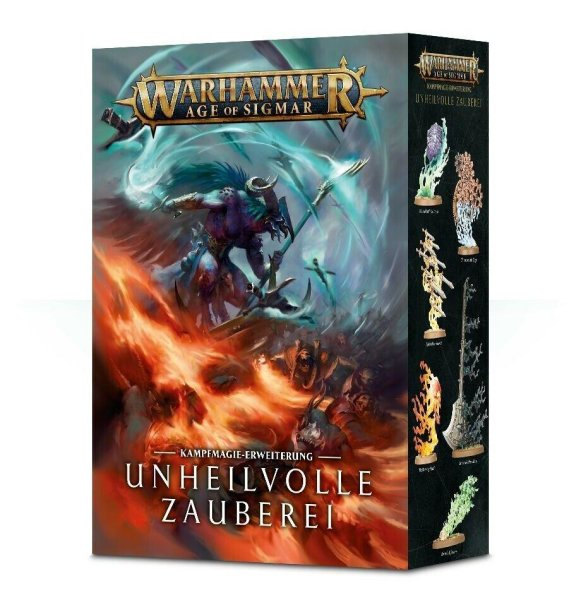 Warhammer Age of Sigmar: Unheilvolle Zauberei (DE) Mailorder