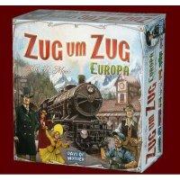 Zug um Zug Europa (DE) Brettspiel