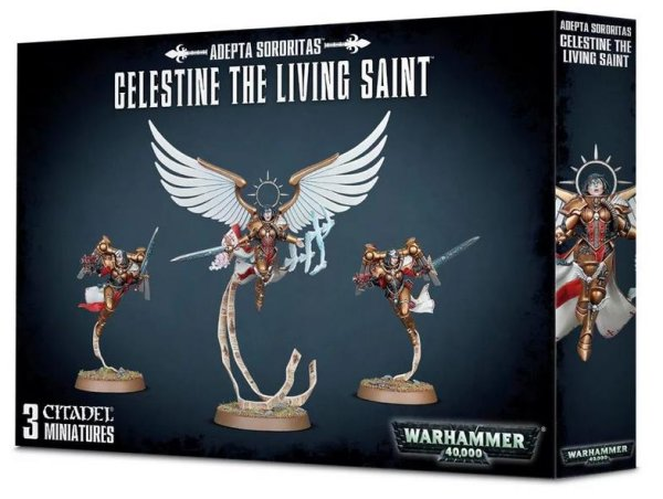 Adepta Sororitas - Celestine The Living Saint, Warhammer