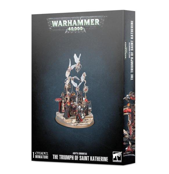Adepta Sororitas: The Triumph of Saint Katherine, Warhammer 40k