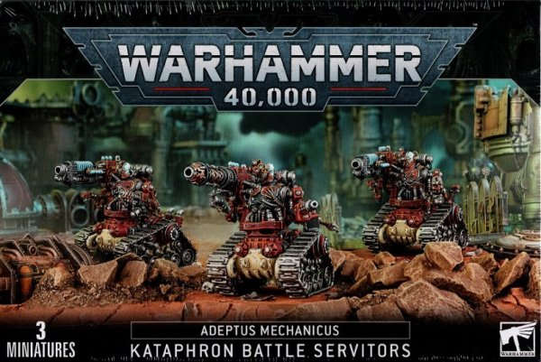 Adeptus Mechanicus - Kataphron Battle Servitors