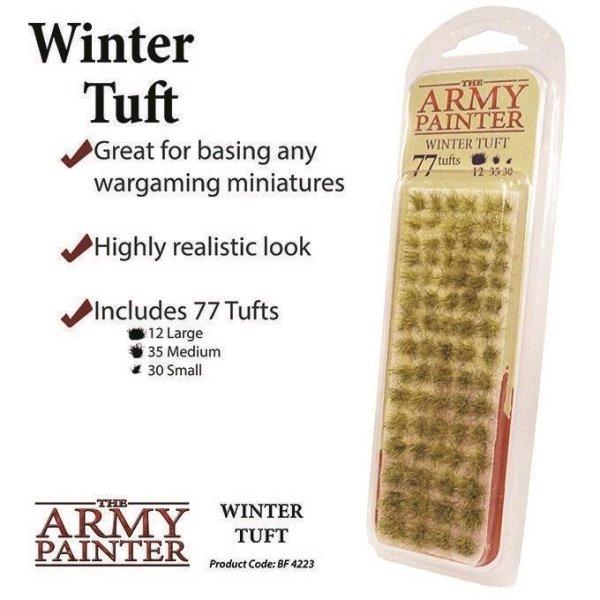 Army Painter BF4223 Winter Tuft, Büchel, Battlefields, Tabletop Zubehör