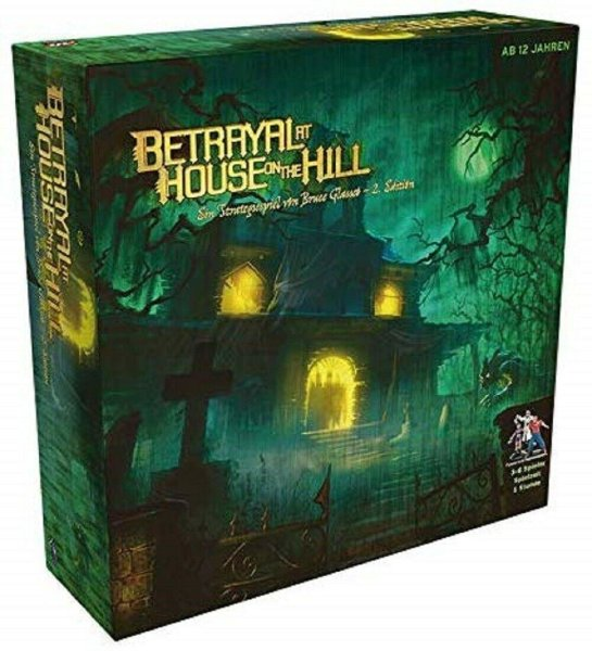 Betrayal at House on the Hill, 2. Edition (DE)