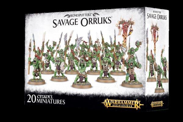 Bonesplitterz - Savage Orruks Morboys