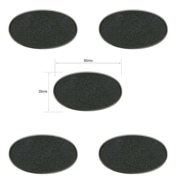 Citadel-Ovalbases (60 mm x 35 mm)