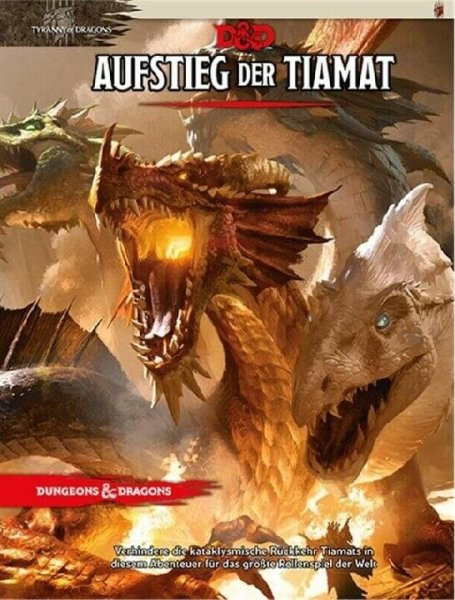 Dungeons & Dragons 5: Aufstieg der Tiamat (DE) Abenteuer