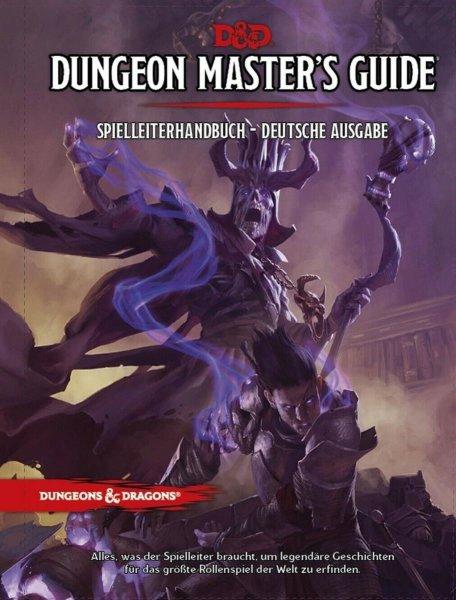 Dungeons & Dragons 5: Game Dungeon Masters Guide - Spielleiterhandbuch (DE)