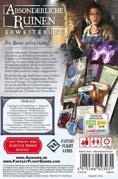 Eldritch Horror: Absonderliche Ruinen, Erweiterung (DE)