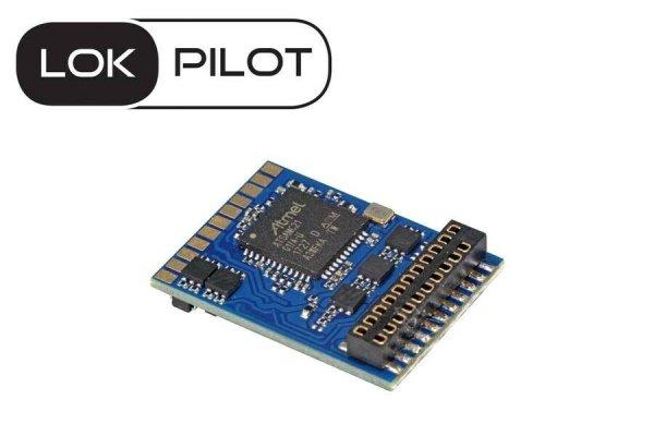 ESU 59619 LokPilot 5 Decoder 21MTC NEM 660 DCC/MM/SX/M4 RailCom (54614)