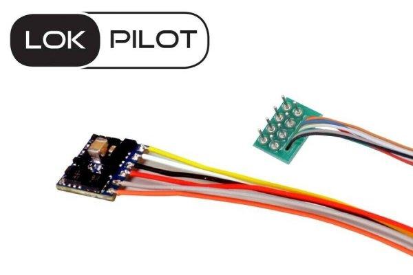 ESU 59810 LokPilot 5 Micro Decoder 8-pol Stecker NEM 652 DCC/MM/SX RailCom (54683)