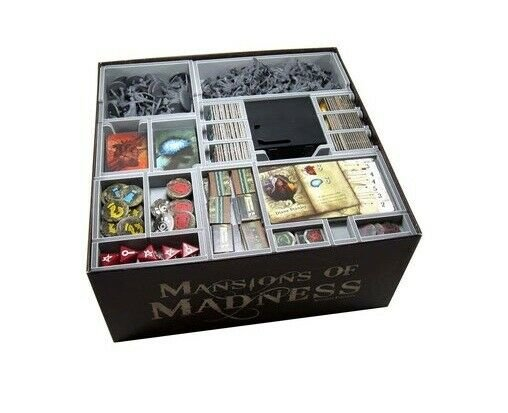 Folded Space: Mansions of Madness 2nd Edition Insert, Brettspiel Zubehör
