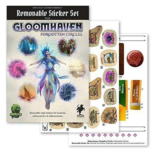 Gloomhaven 2 - Removable Sticker Set: Forgotten Circles