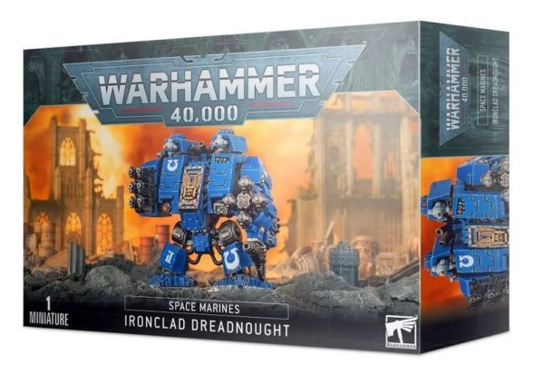 Ironclad-Cybot Dreadnought der Space Marines