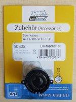 ESU 50332 Lautsprecher m.Schallkapsel 23mm rund, 10mm...