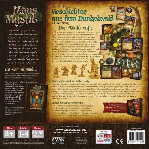 Maus und Mystik Geschichten aus dem Dunkelwald Erweiterung (DE)