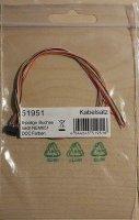 ESU 51951 Schnittstellenbuchse 6-pol. NEM 651 mit Kabelbaum