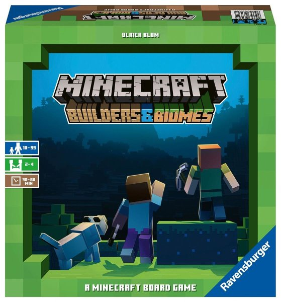 Minecraft Builders & Biomes - Das Brettspiel (Multilingual)