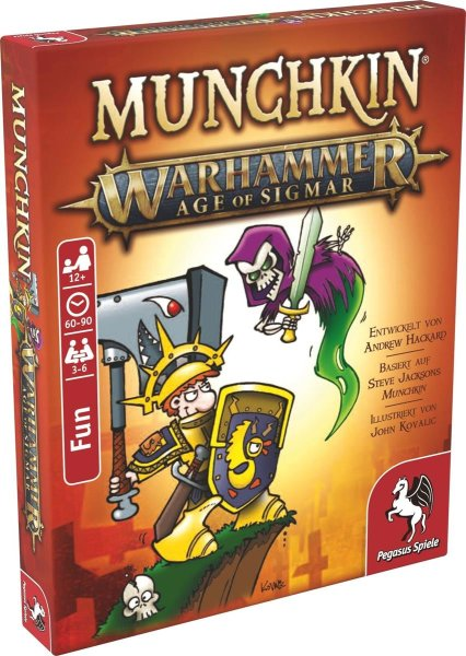 Munchkin - Warhammer Age of Sigmar (DE)