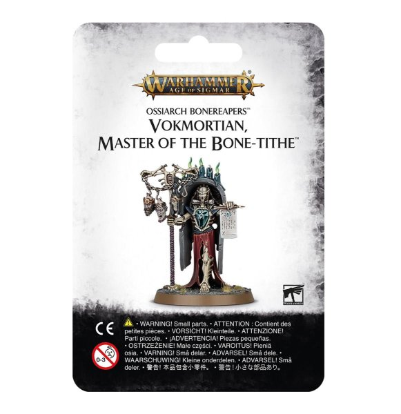 Ossiarch Bonereapers - Vokmortian, Master of the Bone-tithet, Warhammer AoS Age of Sigmar