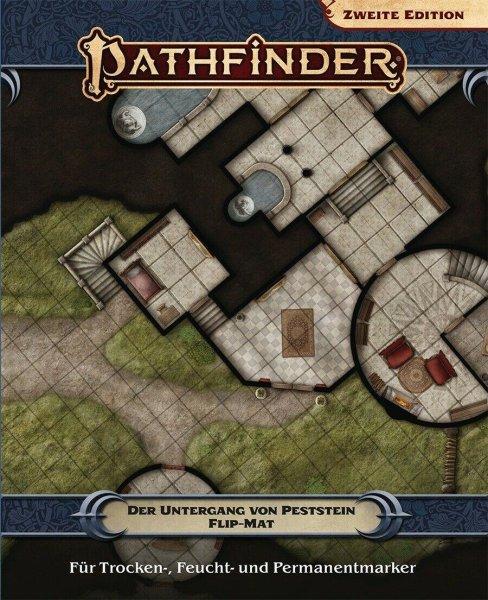 Pathfinder 2. Edition - FlipMat: Peststein (DE)