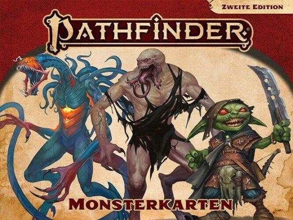 Pathfinder 2. Edition - Monsterkarten (DE)