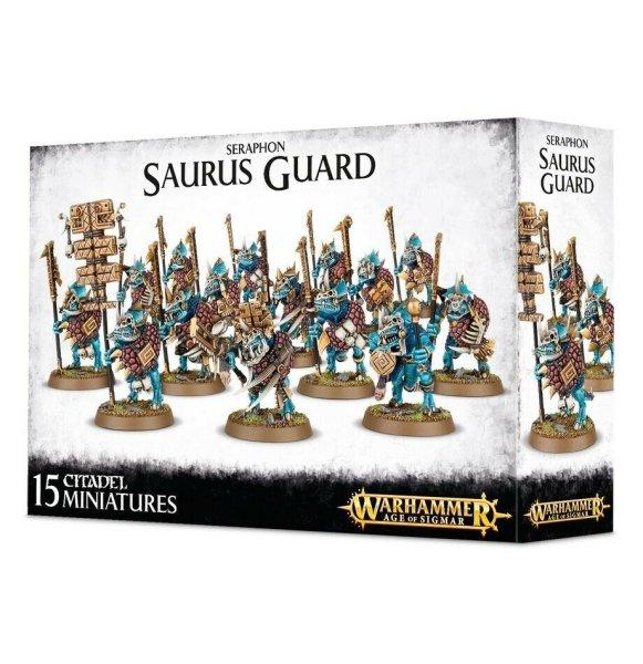 Seraphon - Saurus Guard