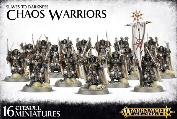Slaves to Darkness - Chaos Warriors Regiment, Warhammer AoS Age of Sigmar