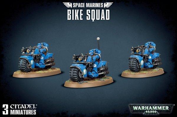 Space Marine - Bike Squad