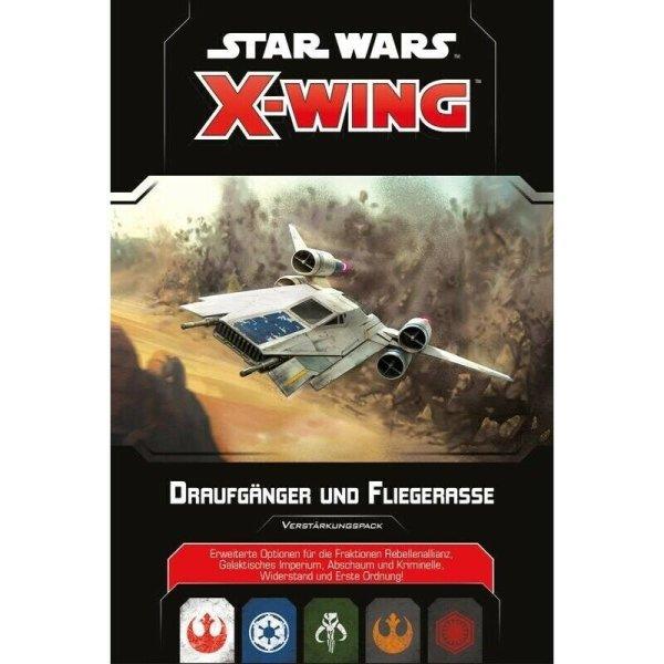 Star Wars X-Wing 2.Ed. Draufgänger und Fliegerasse, Erweiterung (DE)
