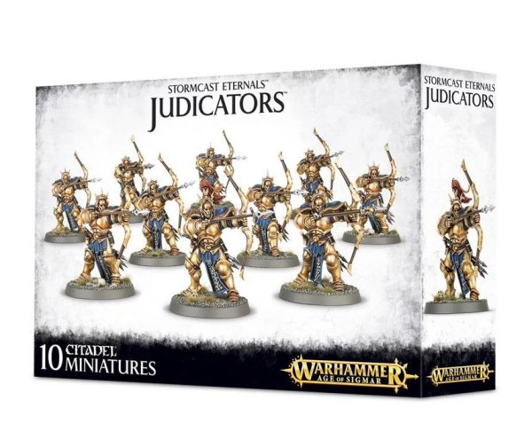 Stormcast Eternals - Judicators, Warhammer Age of Sigmar AoS