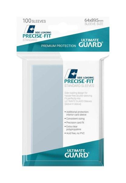 Ultimate Guard Precise-Fit Sleeves Side-Loading Standardgröße Transparent (100)