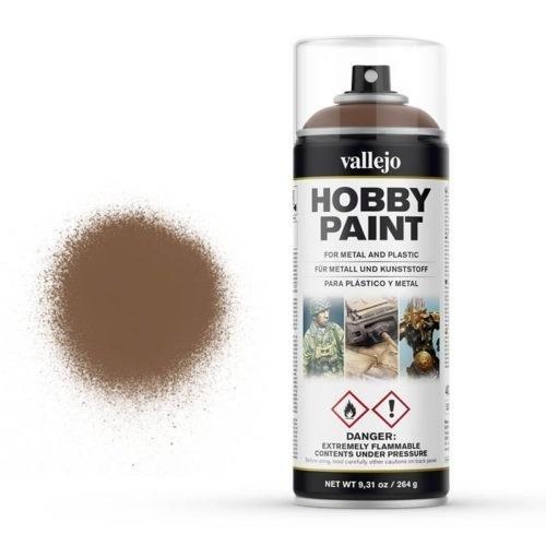 Vallejo Hobby Paint Spray Primer Beasty Brown 400ml (30€/1L)