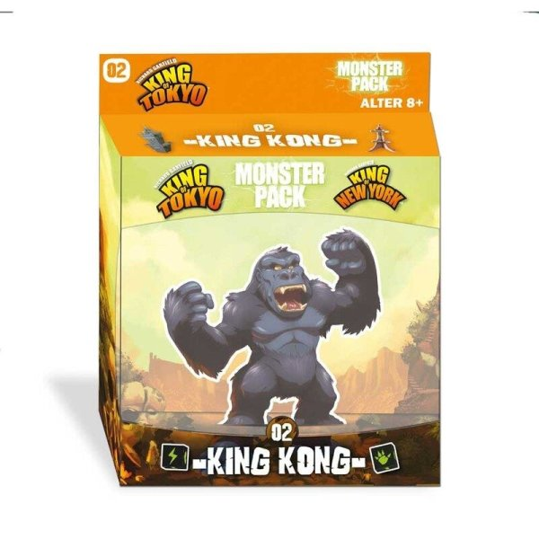 King of Tokyo: Monster Pack - King Kong (DE)
