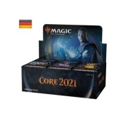 MTG Magic - M21 Haupt Core Set 2021 Draft Booster Display...