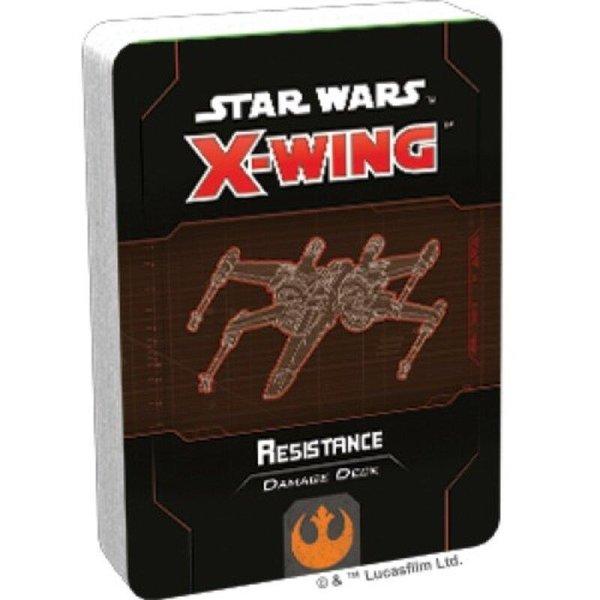 Star Wars X-Wing: Resistance Damage Deck (EN)