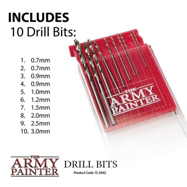 The Army Painter TL5042 Model Drill Bits (10 Bohrer) für Handbohrer TL5031