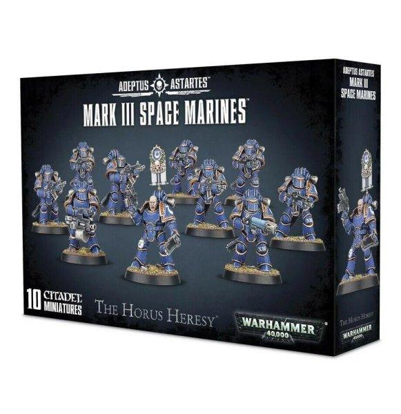 Adeptus Astrates: Mark III Space Marines