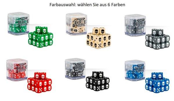 Warhammer Würfelkubus Farbwunsch Wählen Sie unter 6 Farben!