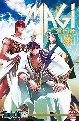 Magi - The Labyrinth of magic 4 - Shinobu Ohtaka