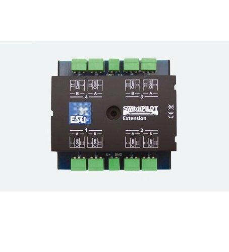 ESU 51801 SwitchPilot Extension, 4 x Relaisausgang, Erweiterung für SwitchPilot Familie