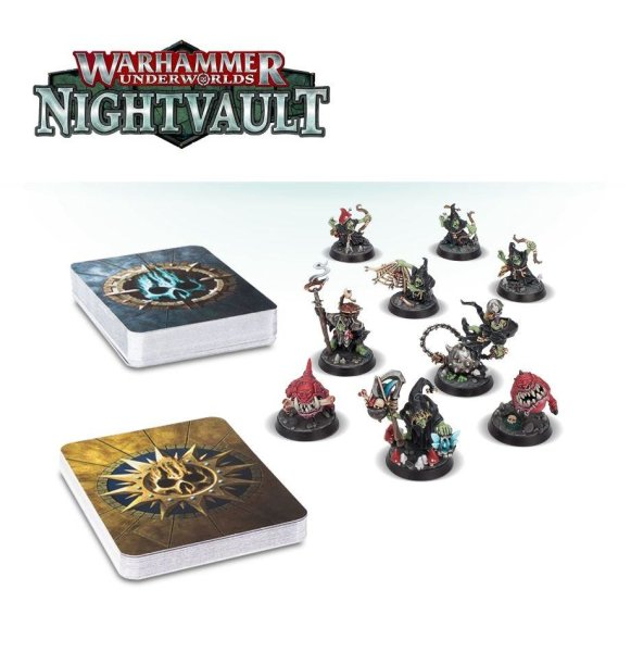 Warhammer Underworlds: Nightvault - Zarbags Gitz (DE)