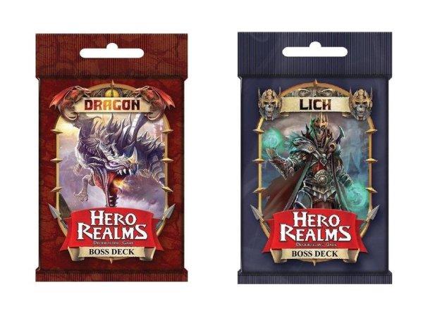 Hero Realms: Boss-Decks Drache + Lich (DE) Erweiterung